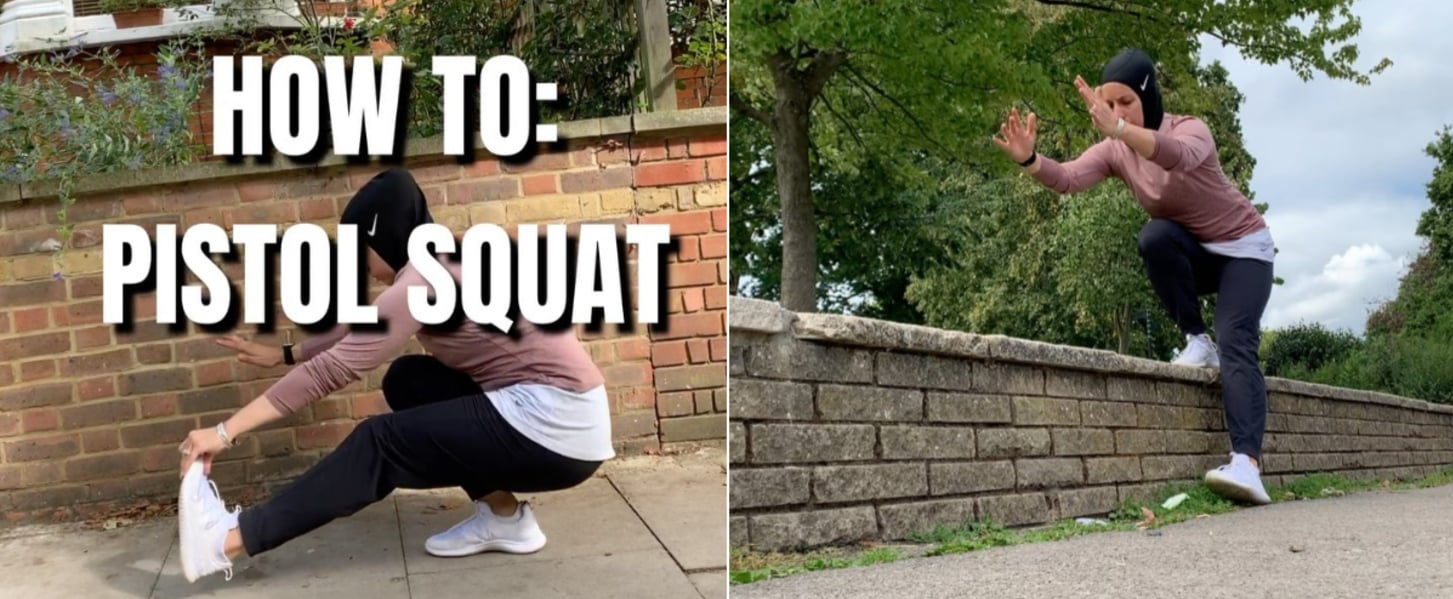 Nesrine Dally's Tips For Learning How to Do a Pistol Squat