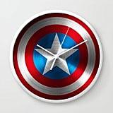 Captain America WALL CLOCK WHITE ($30)