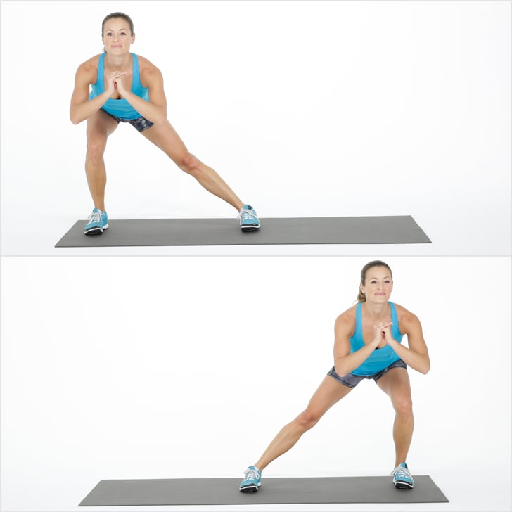 Warmup, Exercise 2: Alternating Side Lunge