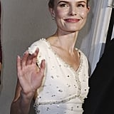 Kate Bosworth Wears White on the Red Carpet at the Deauville Film Festival