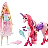 Barbie Princess and Unicorn Gift Set