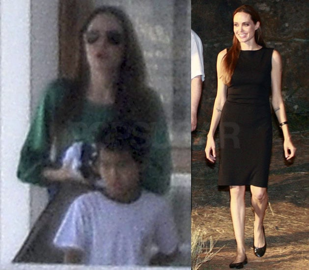 Angelina Jolie Travels to Croatia With Maddox and Pax While Brad Sips Wine on Set