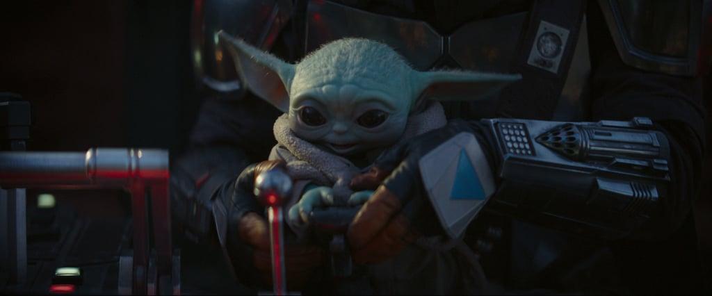 Baby Yoda in The Mandalorian Chapter 4