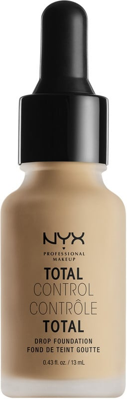 NYX Total Control Drop Foundation ($14) comes in 24 shades.