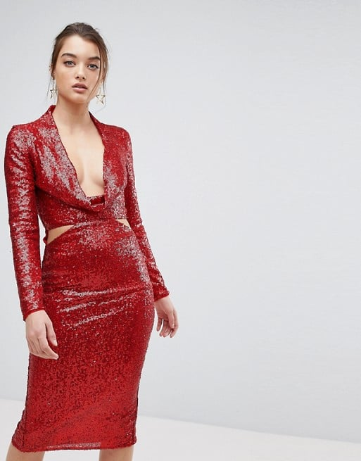 Shop Similar Red Sequin Dresses