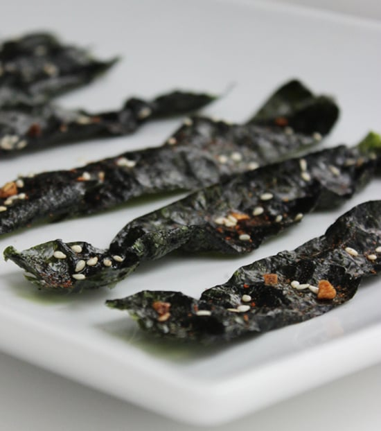 Sesame-Garlic Nori Chips