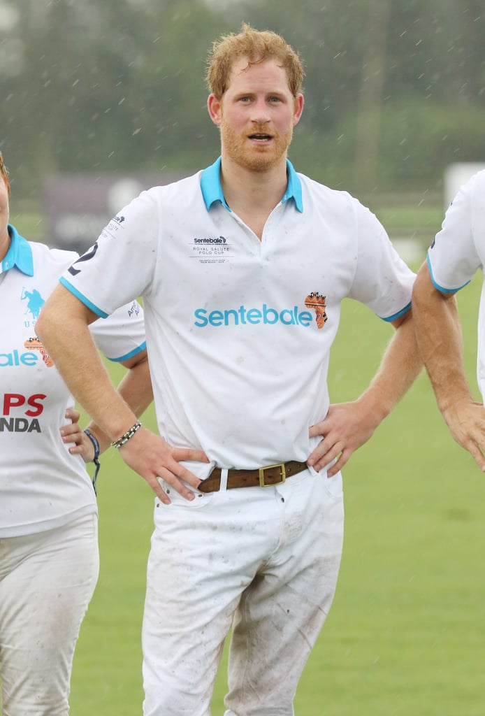 Prince Harry Plays Polo in Florida May 2016