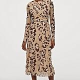 H&M Calf-length Mesh Dress