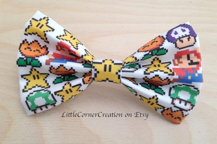 Super Mario Video Game Bow Tie ($7)