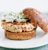 Fast & Easy Dinner: Salmon Burgers