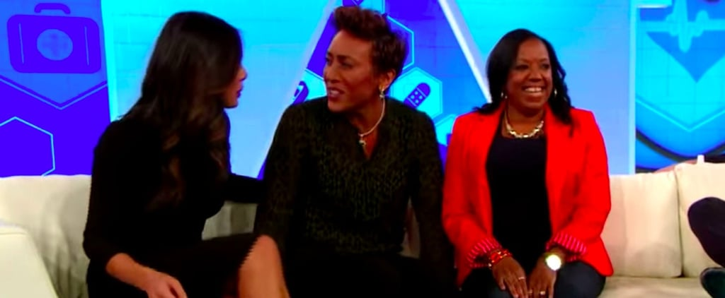 Robin Roberts Tears Up While Reuniting With the Nurses Who Helped Her Through Chemotherapy