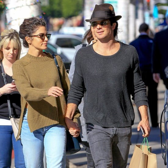 Nikki Reed and Ian Somerhalder Holding Hands in LA Nov. 2016