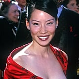 Lucy Liu's Cat Eye and Brick Lipstick
