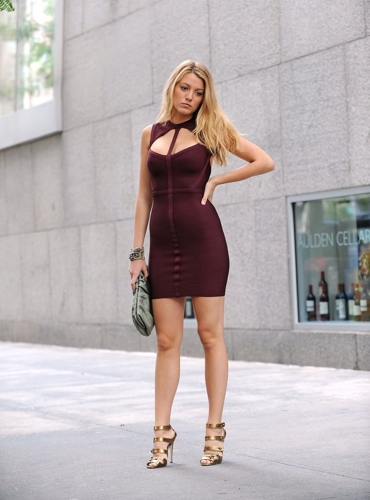 A Skintight Dress Works Just as Well For Day as Night