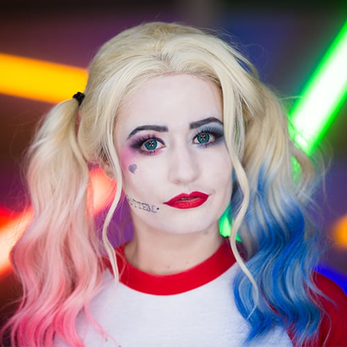Harley quinn diy costume popsugar beauty solutioingenieria Image collections