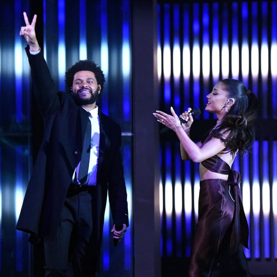 The Weeknd and Ariana Grande Perform at iHeartRadio Awards