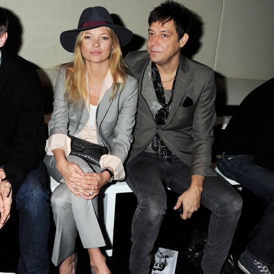 Pictures of Kate Moss and Jamie Hince Attending London Fashion Week
