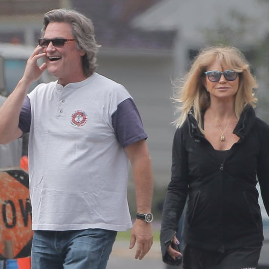 Goldie Hawn and Kurt Russell Out in LA May 2016
