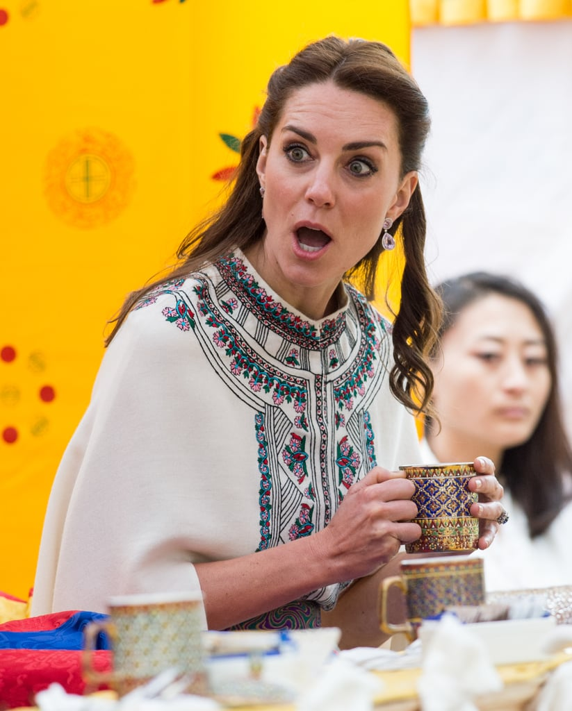 Kate Middleton Funny Faces In India 2016