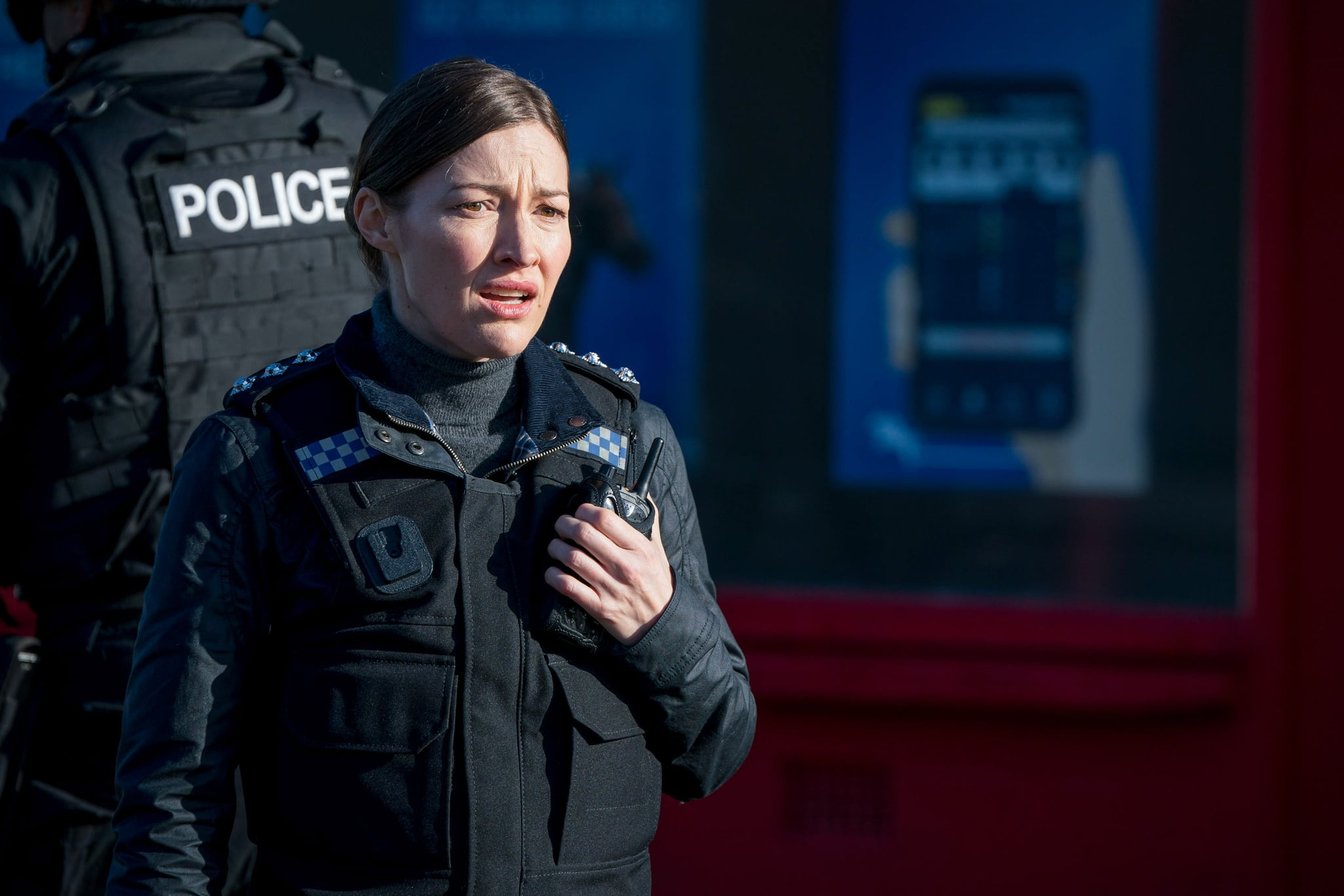 WARNING: Embargoed for publication until 00:00:01 on 16/03/2021 - Programme Name: Line of Duty S6 - TX: n/a - Episode: Line Of Duty - Ep 1 (No. n/a) - Picture Shows:  DCI Joanne Davidson (KELLY MACDONALD) - (C) World Productions - Photographer: Steffan Hill