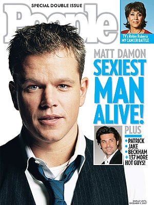 Who Do You Think Is the Sexiest Man Alive?