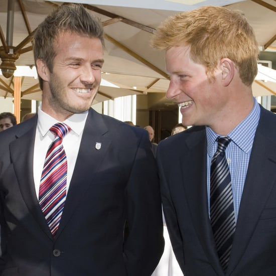 David Beckham Named Ambassador Prince Harry's Invictus Games