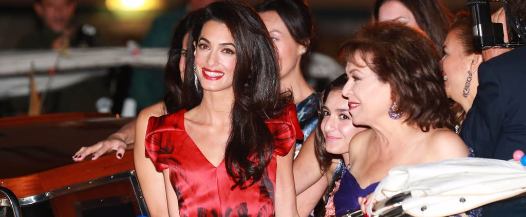 Need a Holiday Party Outfit? Amal Clooney's at Your Service