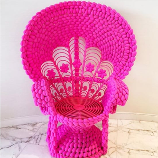 Throne Made Out of Beautyblenders