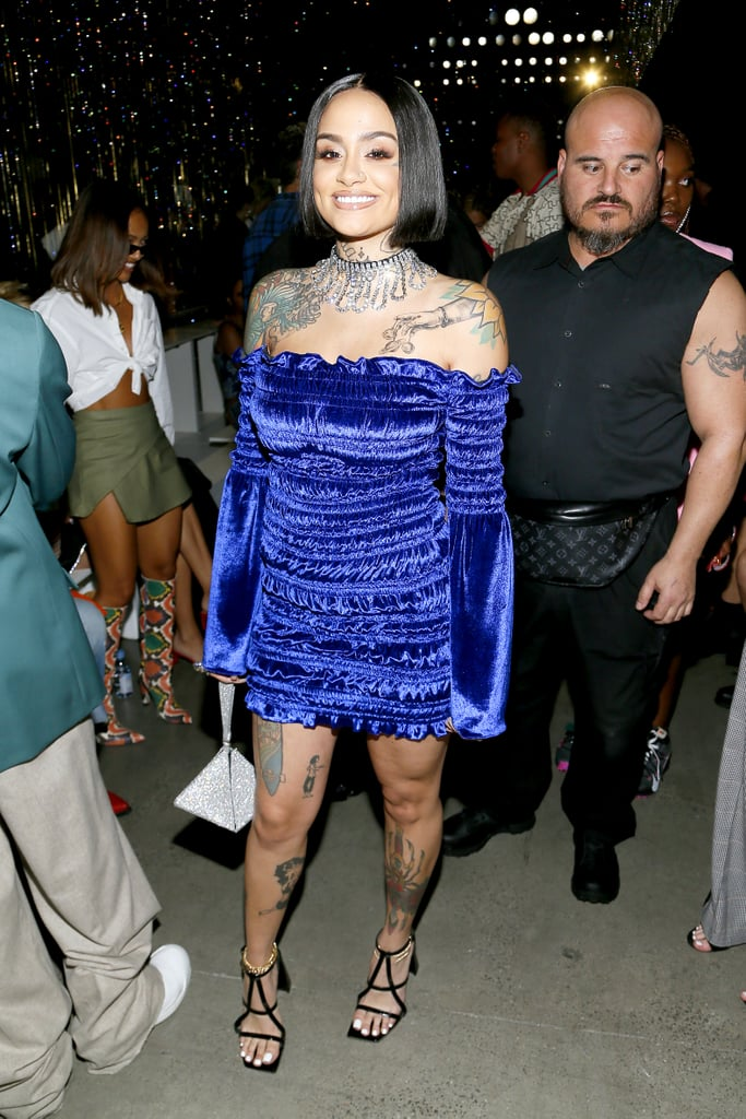 Kehlani at the Area New York Fashion Week Show