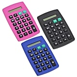 8-Digit Plastic Pocket Calculators ($1 each)