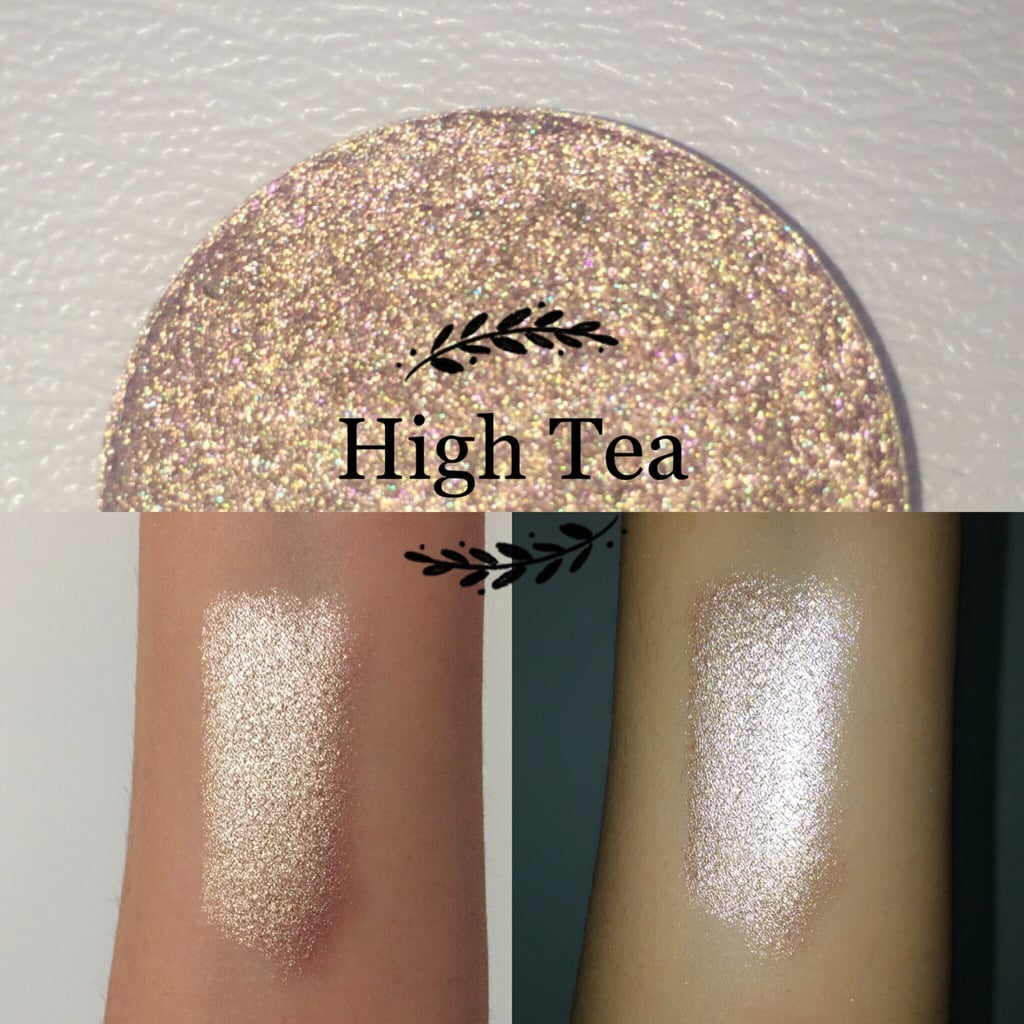 You may not be able to actually have tea with Mrs. Potts and Chip, but you can still think of them when you wear this sparkly EnchantedLustre High tea single pan highlighter and eye shadow ($6).