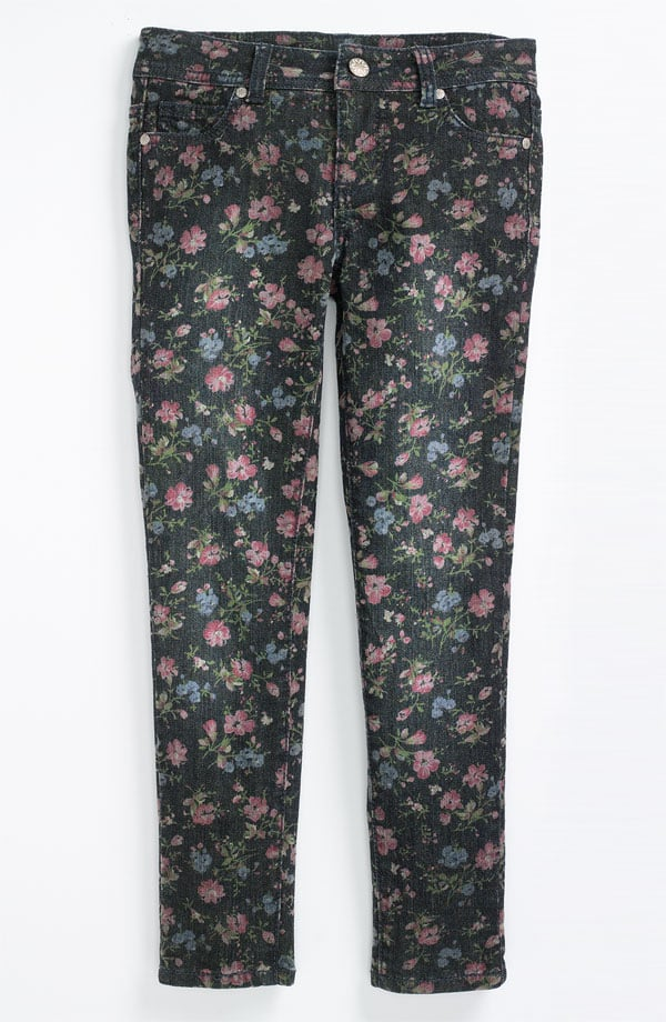 Fire Printed Skinny Jeans ($34)