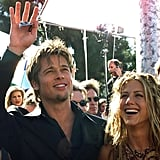 Sept. 1999: Brad and Jen Make Their Red Carpet Debut as a Couple