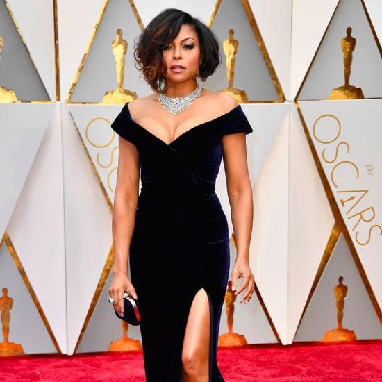 Taraji P. Henson's Alberta Ferretti Gown at 2017 Oscars