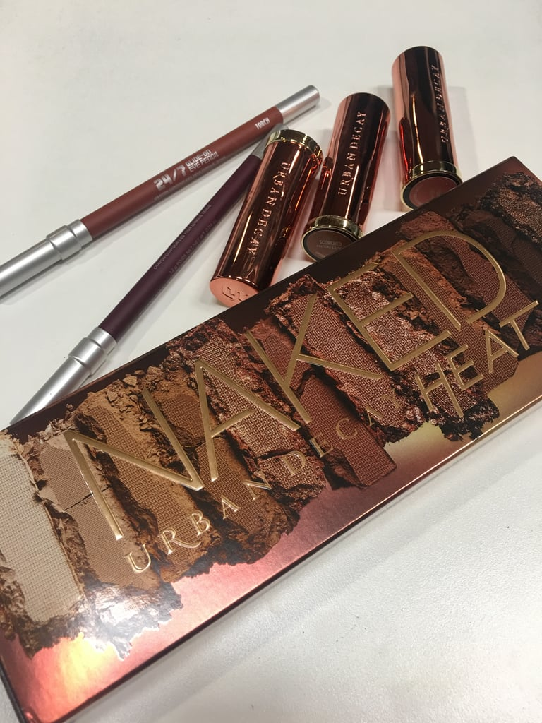 Naked Heat Palette + Vice Lipstick and 24/7 Glide-On Eye Pencil