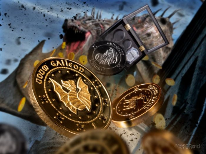 Harry Potter Money in the Bank Gringotts Coin Collection