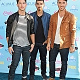 The Jonas Brothers stepped out in full force in 2013.