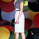 From a gingham blouse to heels with lace detail and a metallic belt, Diana always made a statement. Source: Getty/Anwar Hussein