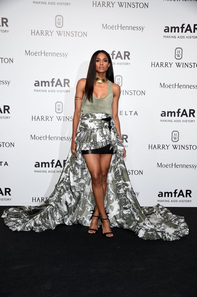 Ciara Wears the Leggiest Dress on the Red Carpet at NFL ...
