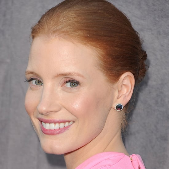 Jessica Chastain's Hair and Makeup at the 2012 Critics' Choice Awards