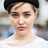 This girl's cute cap brought attention to her wispy bangs. Source: Le 21ème | Adam Katz Sinding