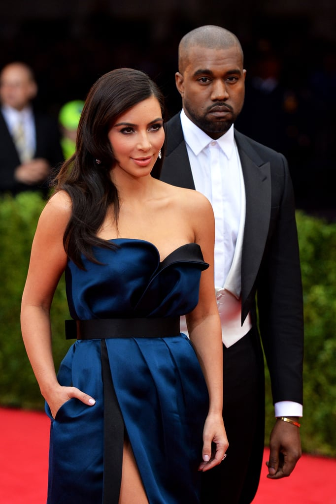 Kim and Kanye made their second Met Gala appearance in May 2014.