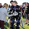 The Moving Story Behind a Paralyzed Woman Who Just Completed a Half Marathon