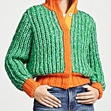 Novis Jagger Cropped Hand Knit Cardigan