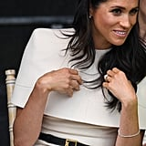 Meghan Markle's Givenchy Cream Dress