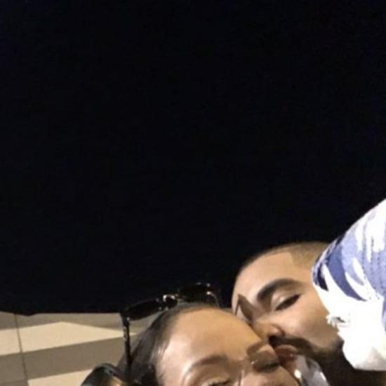 Drake Kissing Rihanna Instagram Photo August 2016