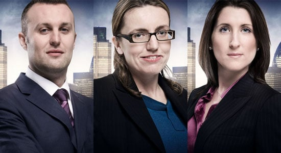 Photos of James McQuillan, Lorraine Tighe and Debra Barr, Who Were the Three Contestants Fired From The Apprentice Semi-Final