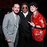 Shia LaBeouf, Spike Lee, and Noah Jupe at the 2020 Spirit Awards