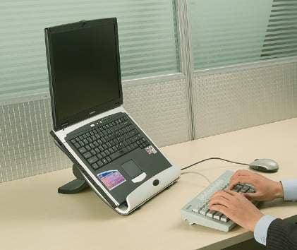 The IDesk Laptop Desktop Stand