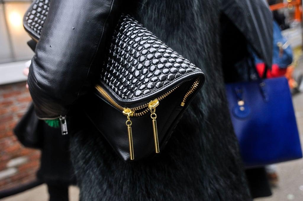 Street Style Shoes Bags New York Fashion Week Fall 2013 Popsugar Fashion